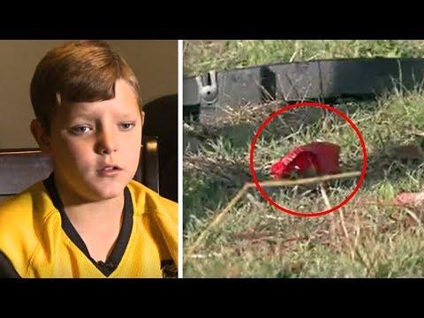 Boy Spots A 'Strange Shape' Under A Bridge. When He Takes A Closer Look, He Immediately Breaks Down