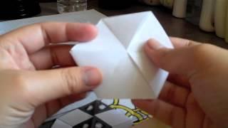 How to Make a Tri-Hexaflexagon