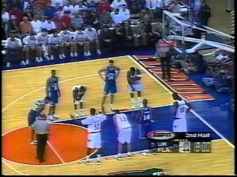 02/04/1999:  #5 Kentucky Wildcats at Florida Gators