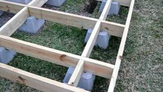 How I Built My Backyard Observatory - Episode #18 | Deck Level & Square