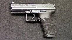 HK P30 40S&W pistol - Shooting Review / PrepperKip