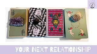 💕YOUR NEXT RELATIONSHIP💕: Super Specific Tarot Reading + Initials🌙✨
