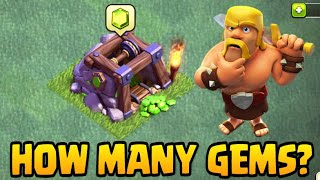HOW MANY GEMS CAN YOU GET FROM YOUR GEM MINE? | Clash Of Clans Builder Base BH5 Farming #EP3