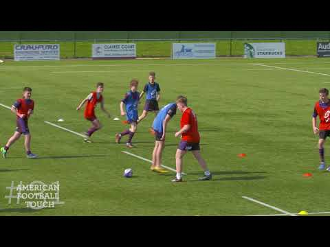 England Rugby Game Changers – American Football Touch