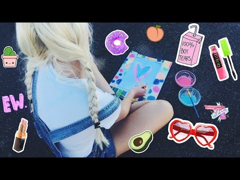 Diy super easy scratch & sniff paint and stickers!
