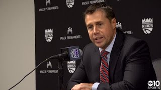 Dave Joerger discusses Kings loss to good Raptors team