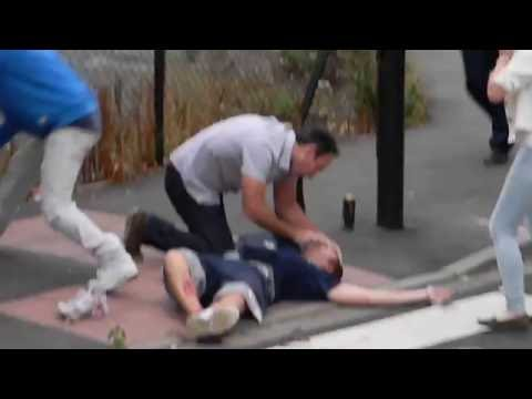 Stabbing in Chiswick London uk.