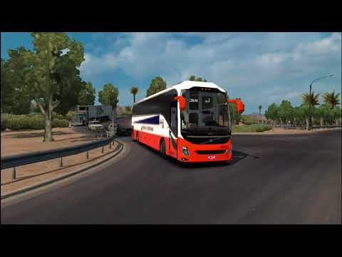 Download American'truck Simulator Volvo 9800 Bus Mod Review