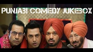 All Time Punjabi Comedy Scenes | Video Jukebox | Funny Punjabi Videos 2016