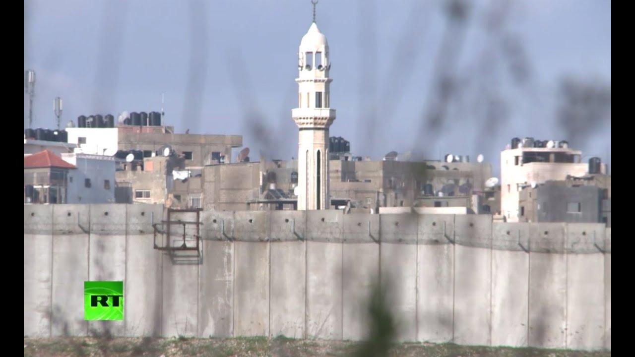 Израиль возводит стену на Голанских высотах