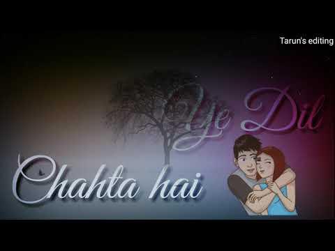 Najar Chahti Hai Didar Karna || 💖Love Whatsapp Status💖 || Male Version