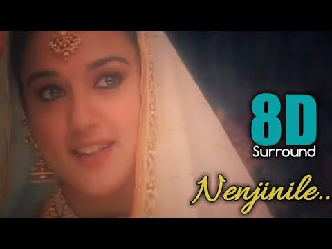 Download Nenjinile Nenjinile 8D | Uyire | AR Rahman | Vairamuthu | S. Janaki | 8D BeatZ