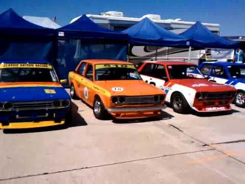 Datsun Race Cars Coronado Youtube