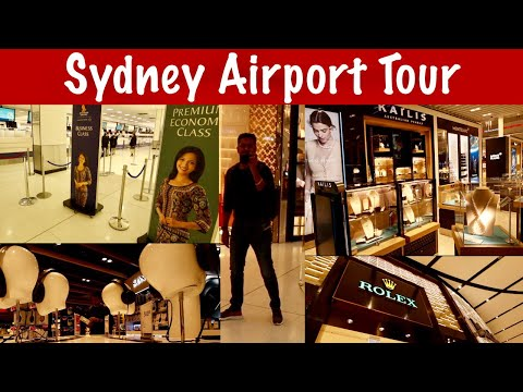 INSIDE SYDNEY INTERNATIONAL AIRPORT || TRAVEL TIPS & AIRPORT TOUR || DUTY FREE SHOPPING VLOG