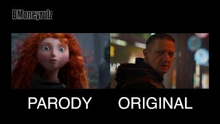Disney / Pixar's AVENGERS: ENDGAME Side-By-Side W/ Original Trailer