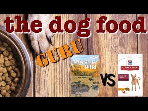 Taste Of The Wild Vs Science Diet  Mash-up