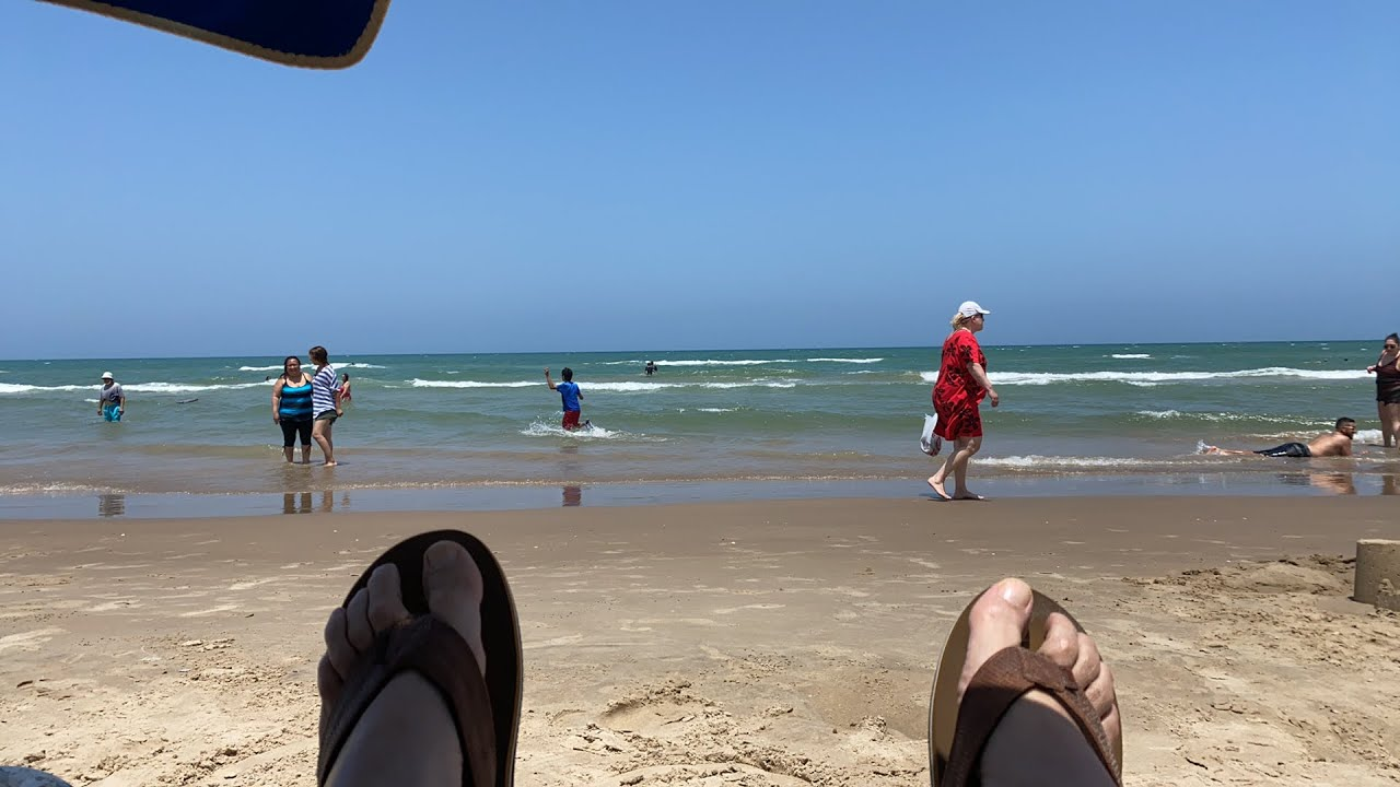Taking in the Sun and Waves on South Padre Island TX. #PVT