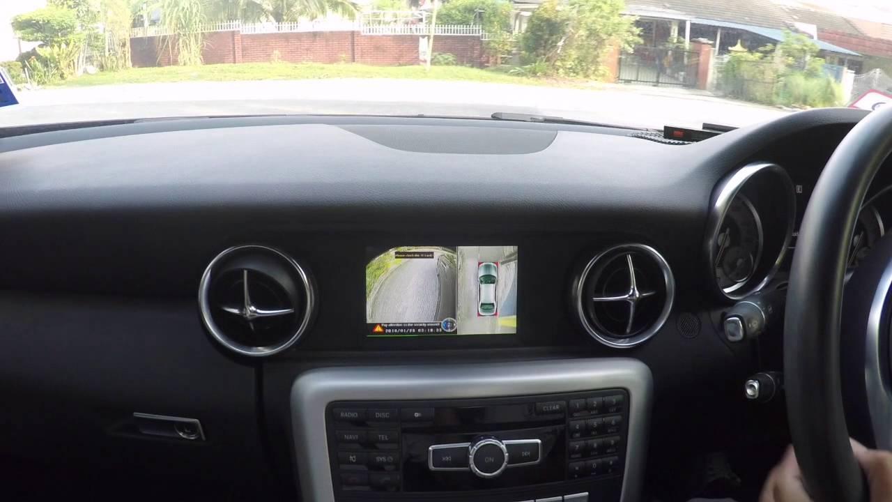 Mercedes Slk  R172  - Aftermarket 360 U0026 39 Deg Camera System