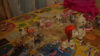 новое видео про игрушечных котят