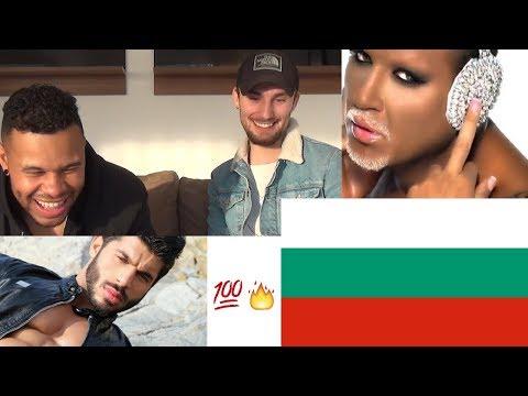 REACTING TO BULGARIAN CHALGA - AZIS, FIKI AND ILIAN : азис, фики, илиян