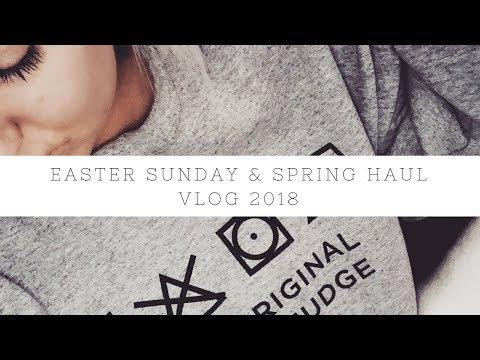 EASTER SUNDAY IN EDINBURGH & SHOPPING HAUL VLOG 2018 | NIKKI