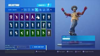 FORTNITE FUNK OPS SKIN DOES FORTNITE DANCES