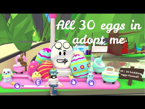 Roblox Adopt Me Easter Egg Locations
