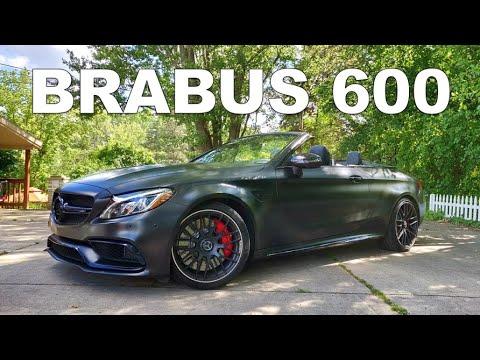 600HP BRABUS C63S AMG REVIEW!