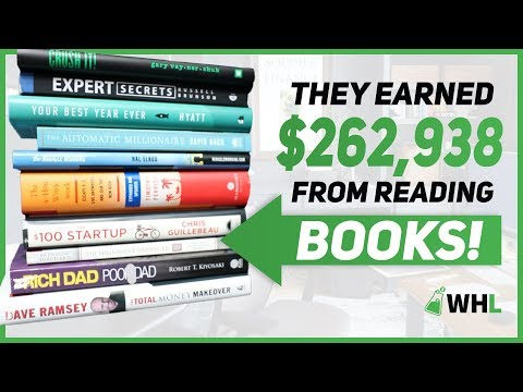 $262,938 Earned From Reading THESE Books 📚