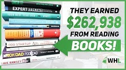 $262,938 Earned From Reading THESE Books