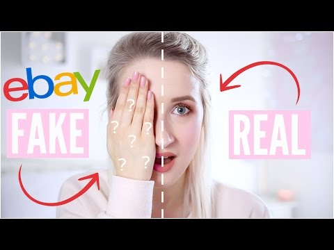 REAL vs FAKE Makeup – TESTING EBAY FAKES | Sophie Louise