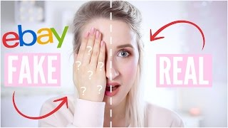 REAL vs FAKE Makeup - TESTING EBAY FAKES | Sophie Louise