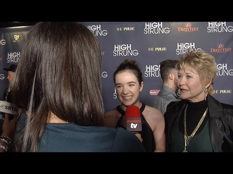 "Aubrey Miller & Dee Wallace Interview ""High Strung"" Premiere"