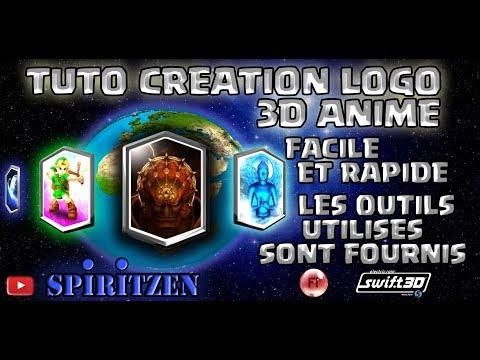 TUTO - création et animation logo 3D, facile et rapide, flash et swift 3D fournis