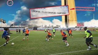 vuclip Niat bener😱 fan Liverpool isengin Manchester United saat latihan