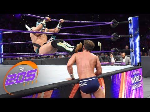Kalisto vs. Drew Gulak - Gauntlet Match: WWE 205 Live, April 24, 2018