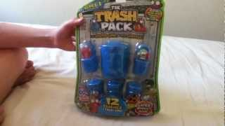 Trash Pack Series 3 Unbox (slobster/rotton roll)