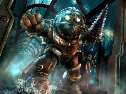 Bioshock 2 Multiplayer: 14 Killstreak w/ Big Daddy Suit +