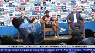 """De Laurentiis: """"Cavani? Se vuole mi chiama e riduce lo stipendio, prende 20mln ogni 10 mesi"""""""