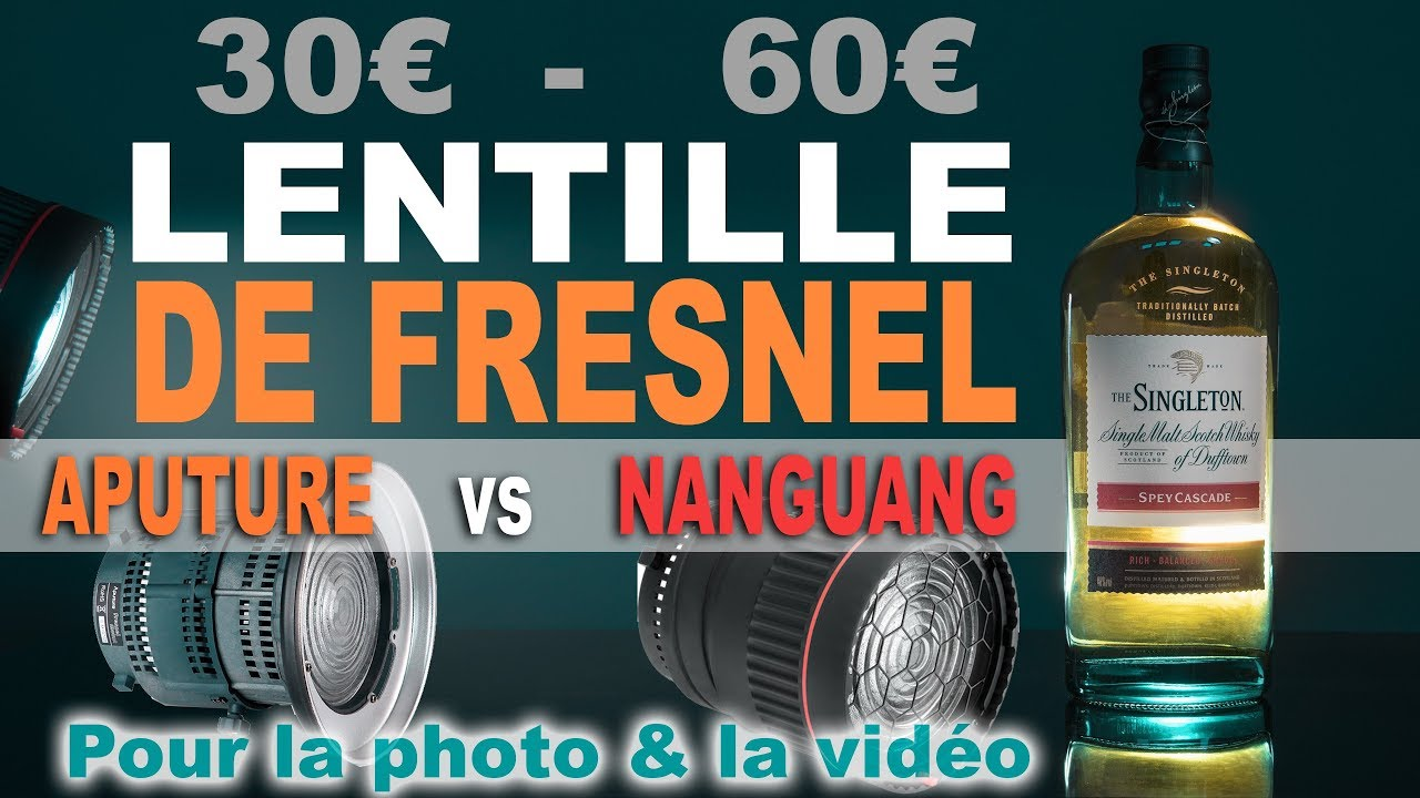 quelle lentille de fresnel pour la photo vid o aputure vs nanguang youtube. Black Bedroom Furniture Sets. Home Design Ideas