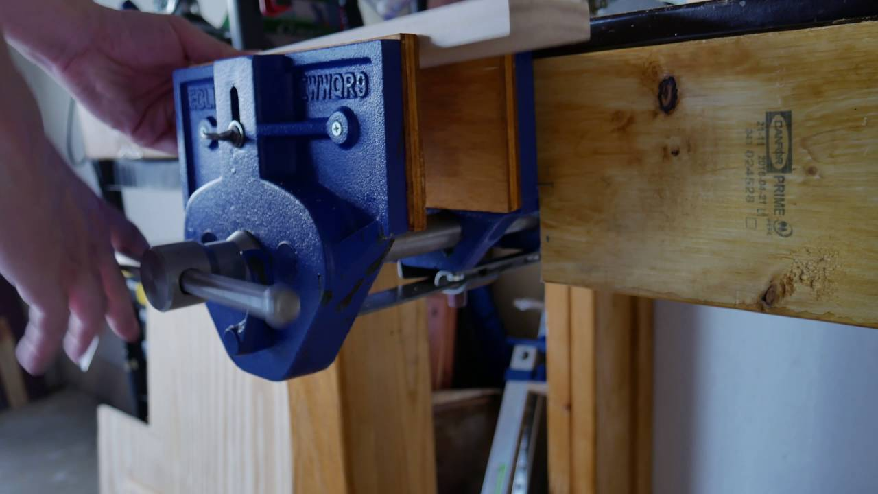 Eclipse 9 Woodworking Vice I Like Tools Episode 07
