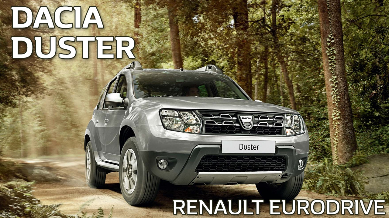 dacia duster tax free car lease in europe youtube. Black Bedroom Furniture Sets. Home Design Ideas