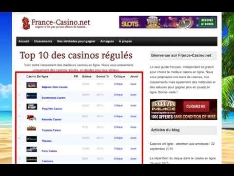 Comment éviter les arnaques et gagner au casino en ligne ? Avec France-casino.net