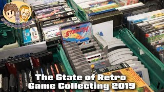 The State of Retro Game Collecting 2019