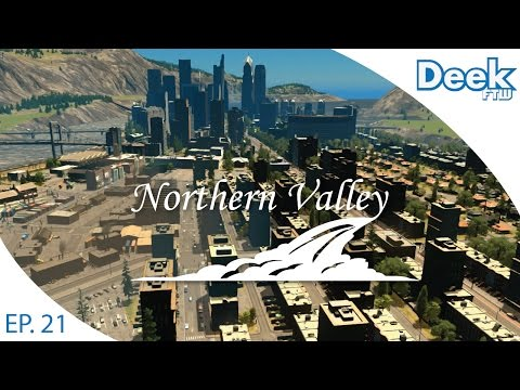 Let's Design Northern Valley Ep.21 - Industrial Sector and Low Income Housing - Cities Skylines