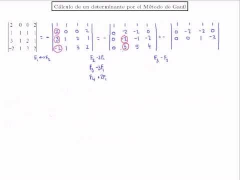 Sistema de ecuaciones compatible indeterminado SCI 3x3. Método de Gauss from YouTube · Duration:  14 minutes 33 seconds