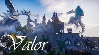 minecraft castle valor medieval build