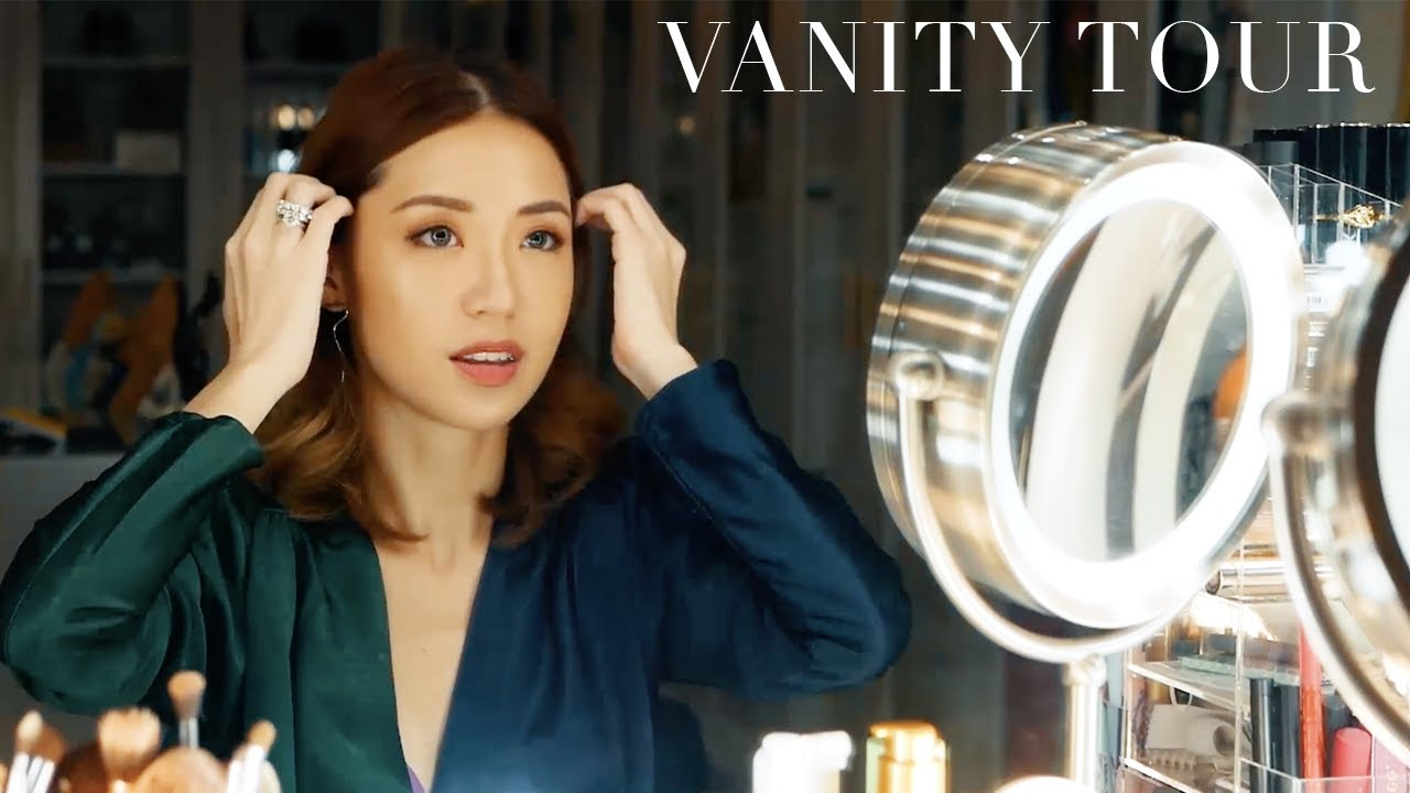 Vanity & Make Up Collection Tour #Skypod | Kryz Uy