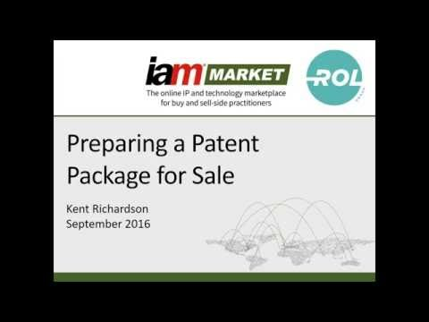Readying a Patent Portfolio for Sale  What You Need to Know to Be Successful