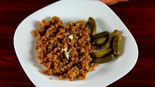 Гречневая каша с грибами в мультиварке-скороварке. Суперкороткий рецепт! Appetito